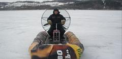 Лодки надувные моторные, аэролодки зимние от