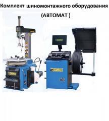 Шиномонтажное оборудование комплект (автомат) Best