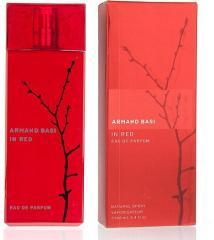 Perfumery Armand Basi In Red Eau de Parfum of 100