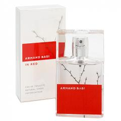 Perfumery Armand Basi In Red Toilet water of 100