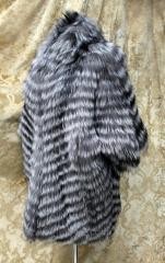 Kimono fur coat from the silver fox individual