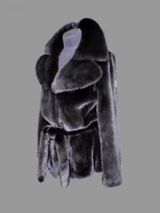 Mink coat individual tailoring