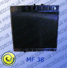 Radiator for MF 38 combine harvester