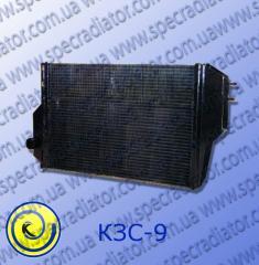 Radiator for the combine of grain-harvesting KZS-9