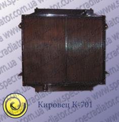 Radiator for the wheel RESIDENT OF KIROV of K-701A