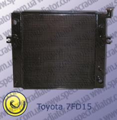 Radiator for wheel loaders of TOYOTA 7FD15