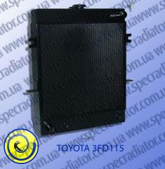 Radiator of water cooling of the engine for TOYOTA