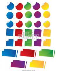 Polymeric stickers