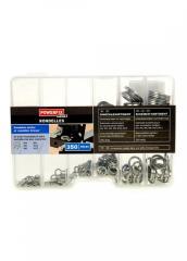 Набор плоских шайб металлик K10-110506