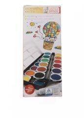 Акварельные краски (24 цвета) разноцветный