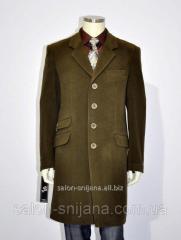 Пальто мужское №61 осень кашемир шоколад