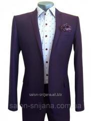Классический мужской костюм № 92/2-124 - DUZ