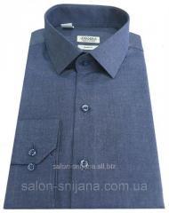 Рубашка мужская приталенная №10-12к. - 4990 V1