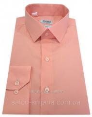 Рубашка мужская приталенная №10-12к. - DACRON 40