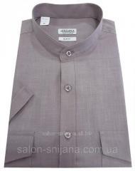 Мужская рубашка с коротким рукавом №12-34 - Flamli 5