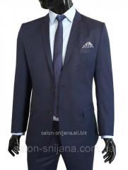 Классический мужской костюм в клетку № 94/5-124 - PT 1085/1