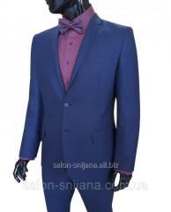Классический мужской костюм № 94/5-124 - Cristiano 4