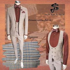 Чоловічий костюм Snijana № 94/5 -138 Rubino-7