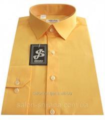 Рубашка мужская приталенная №10-12к. 506/14-1051 S 44 / (37)