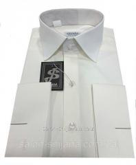 Рубашка мужская под запонку №10/168 - 40-100 V28