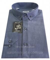 Рубашка мужская приталенная №12-27 3031 V5