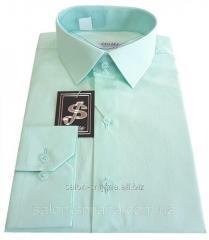 Рубашка мужская приталенная №10-12к. - 40-100 V15