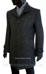 Пальто мужское зимнее №602/8 - букле