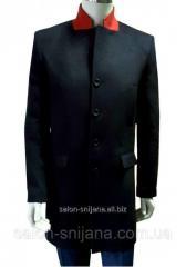 Пальто мужское зимнее №612 з - 13875 син/чер.