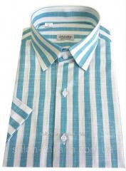 Мужская рубашка с коротким рукавом №10/3 - 6641 V3