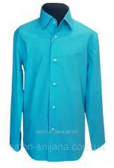 Рубашка детская №12 - Поплин 44