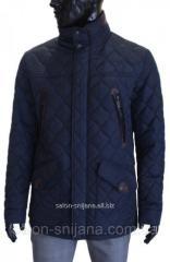 Куртка мужская стеганая К-55 Синяя