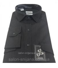 Рубашка мужская приталенная №12-31 Nessi12990