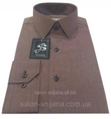Рубашка мужская приталенная №10-12 - Filafil - К 8