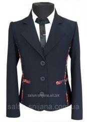 Пиджак школьный детский № 244/1 - KF 09C +D...