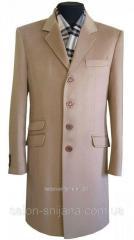 Пальто мужское №61о 13876 капучино
