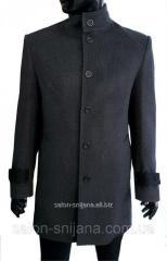 Пальто мужское зимнее №602/8 - 10263 елка 50/182