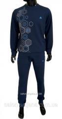 Мужской спортивный костюм SOCCER - синий 11155