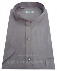 Мужская рубашка с коротким рукавом №10-34 - Flamli 5