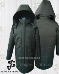 Куртка чоловіча зимова Грета хакі