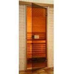 Двери для сауны  Эстония 690x1890,  бронза