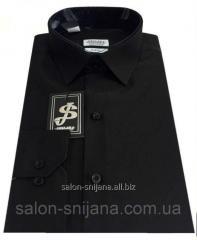 Рубашка мужская черная №10-12к. 3032 V2