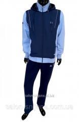 Спортивный костюм SOCCER - т.синий-голубой 11297