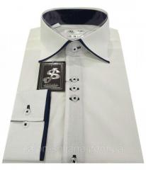 Рубашка мужская № S 38.4 L 54 / (42)