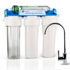 Flow-through filters for water
