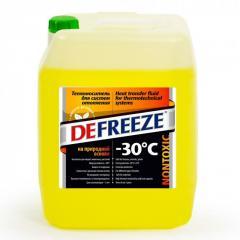 Жидкость для систем отопления до - 30°С Defreeze