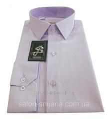Сорочка чоловіча Snijana приталена №10-12 -8130 Lila