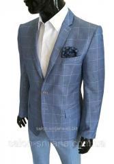 Мужской приталенный летний пиджак №93/2 - VOCUE KETEN 5
