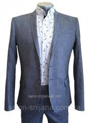 Мужской приталенный летний пиджак №93/2 - RAPSODY 9