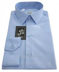 Сорочка чоловіча приталеная №10-12 Dacron 139