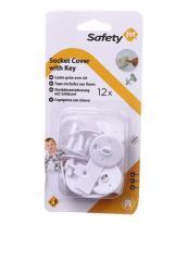 Заглушка для розетки (12 шт.) Safety белый